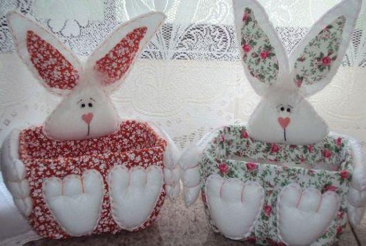 decorado tecido com coelho