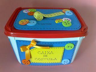 caixa de costura simples