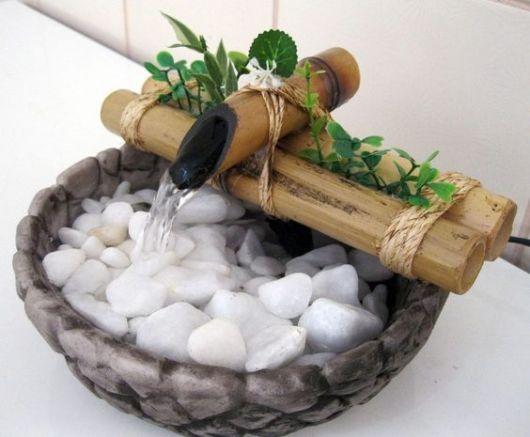 fonte de água simples