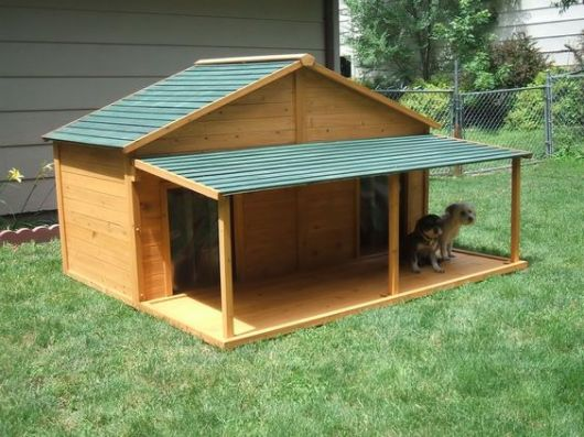 casinha para 2 cachorros