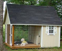 casinha com varanda fechada