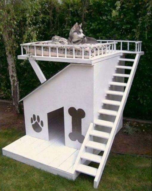 varanda no telhado