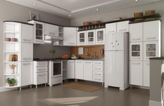 cozinha de canto grande