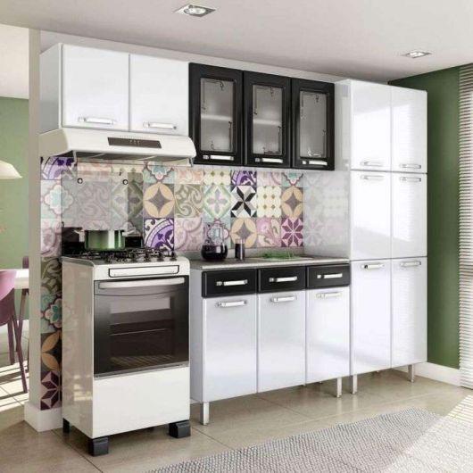 projeto cozinha com armários