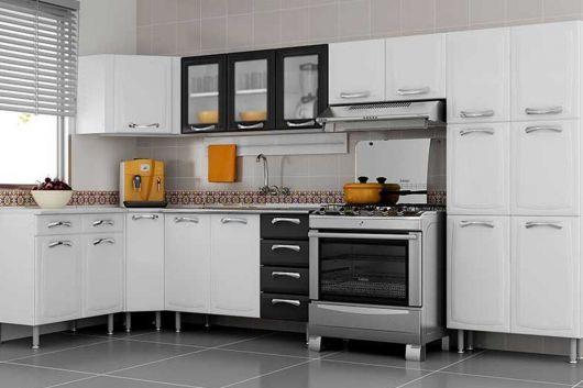 cozinha grande em L