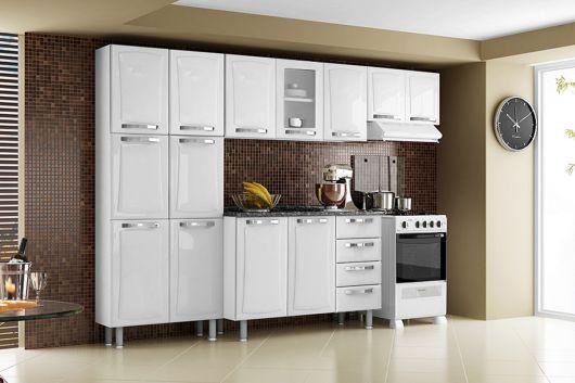 cozinha aço branco