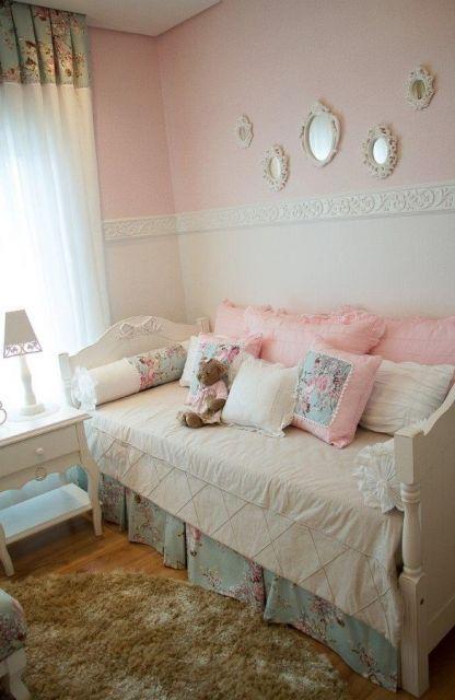 decoração provençal quarto menina
