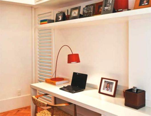 Estante de gesso para sala cole o de fotos - Estantes para pared ...