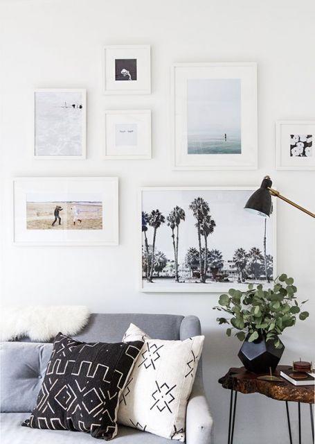 parede de quadros