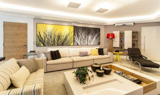 decoração colorida e moderna