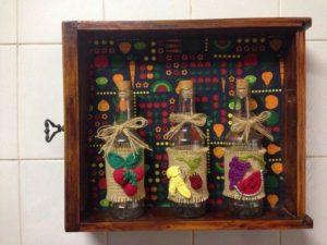 nicho de gaveta para decoração