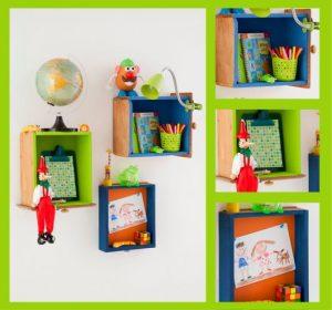 nicho de gaveta para decoração infantil