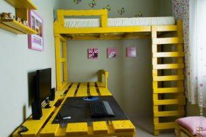 beliche de pallets modelos fotos e dicas de decora o. Black Bedroom Furniture Sets. Home Design Ideas