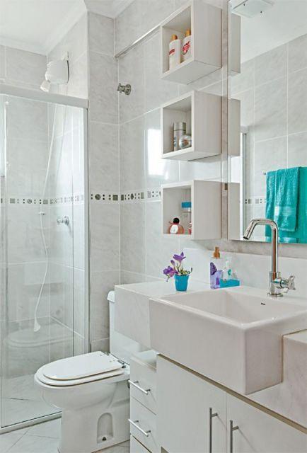 Imagens De Banheiros Simples Decorados : Banheiros decorados de ideias e inspira?es incr?veis