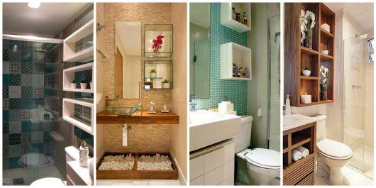 decoração banheiro com nicho