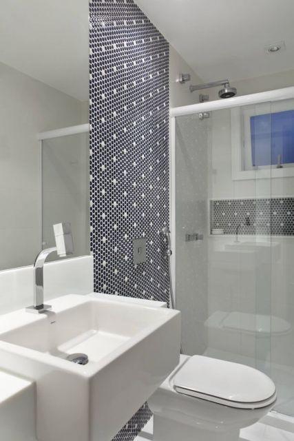 Banheiros decorados + de 80 ideias e inspirações incríveis! -> Banheiros Decorados Incepa