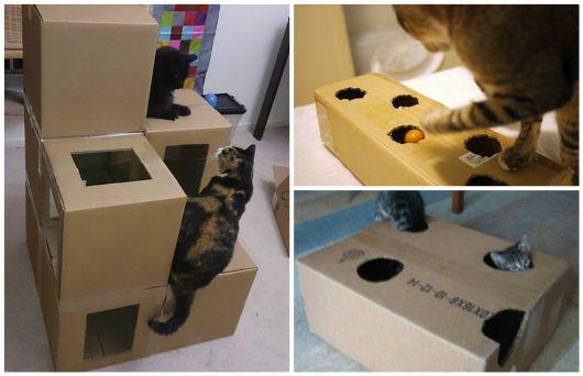 brinquedo de caixa