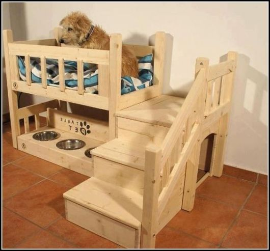 Build A Dog Bed Of Wood