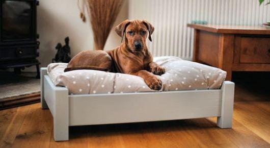 cama com almofada
