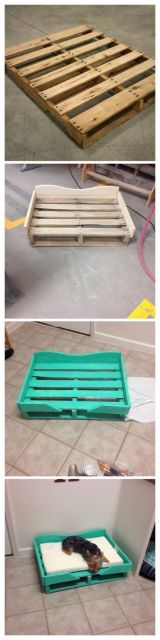 DIY cama de pallet