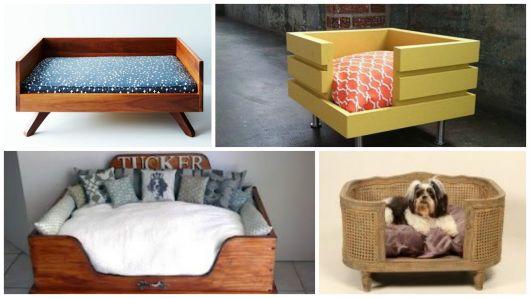 camas de madeira