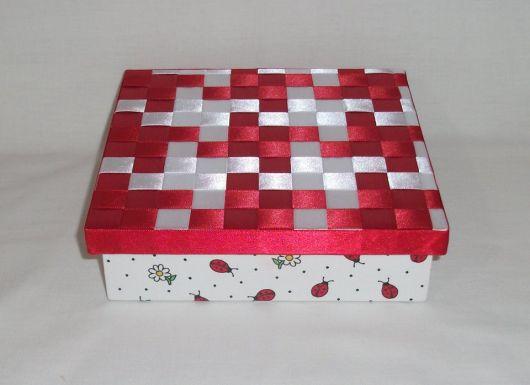 caixa de MDF customizada
