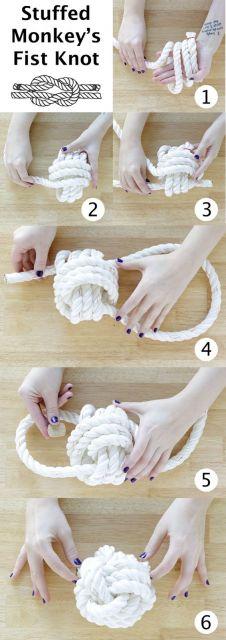 como fazer brinquedo com cordão