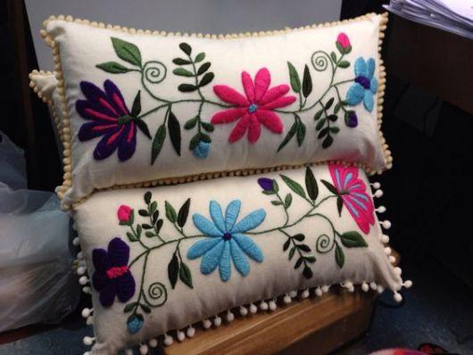 almofada flores
