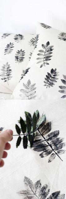 DIY capa de almofada simples