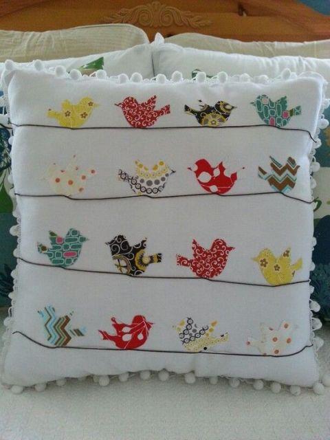 decoração pássaros