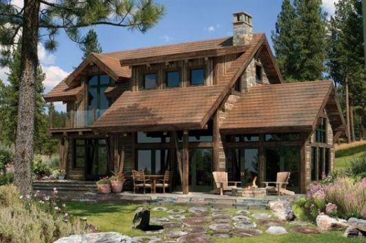 casa de madeira