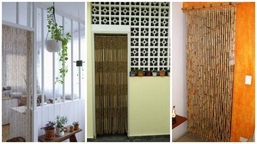 cortina de porta