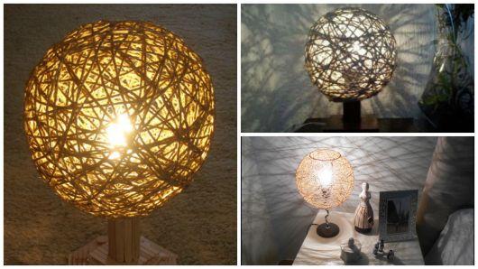 modelos de luminária de mesa
