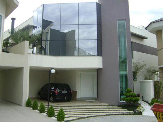 fachada de vidro casa