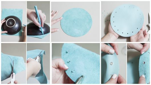passo a passo modelo de tecido