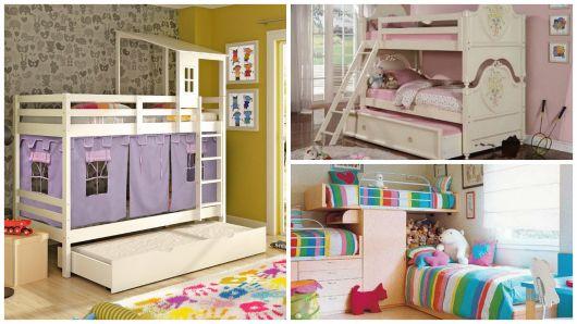 camas para quarto de menina