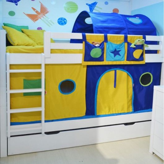 cama casinha meninos