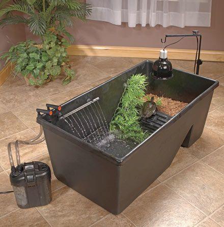 Caixa com divisão para ambiente seco e molhado.