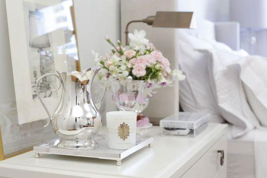 vela perfumada quarto