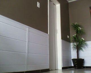 meia parede revestida