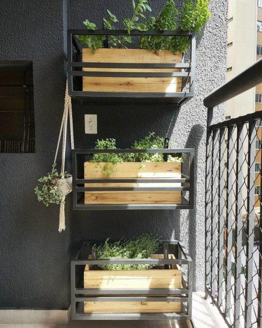 ideias com caixote de madeira