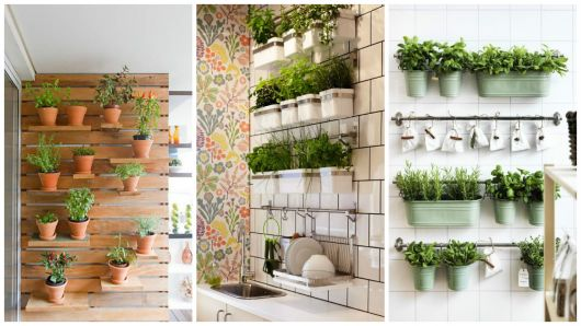modelos de horta vertical