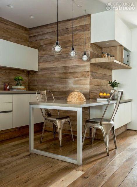 cozinha rústica pequena