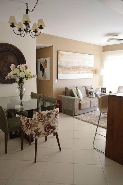 decoração salas integradas