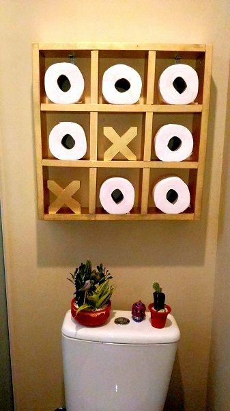 decoração divertida banheiro