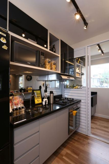 porta de alumínio cozinha