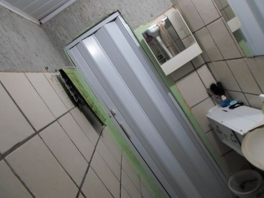 porta de PVC banheiro