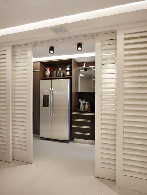 porta veneziana cozinha