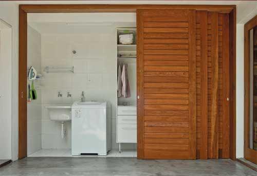 porta de correr lavanderia