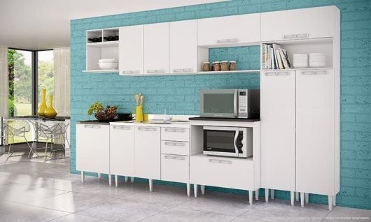 50 Modelos de Cozinhas Simples, Bonitas e Baratas  Veja como decorar! # Cozinha Simples Com Pastilha